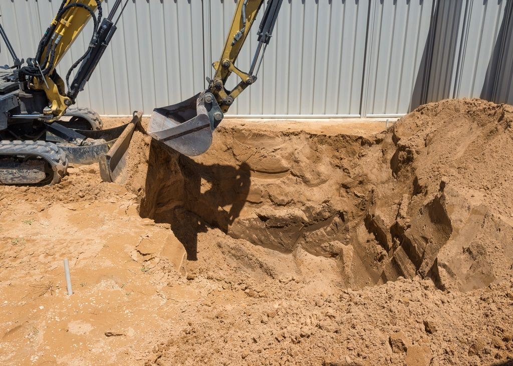 Prix excavation terrassement