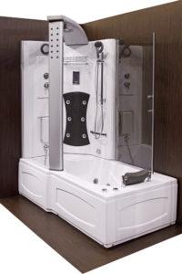 Baignoire technique - Baignoire-douche combinée
