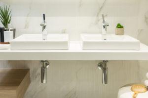 Prix lavabo double vasque
