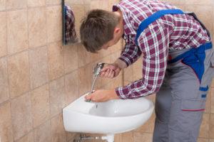 Tarif plombier pose lavabo