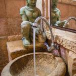 Vasque en pierre - grès