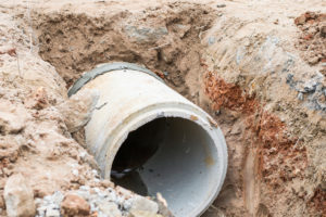 Déversement des eaux usées dans le réseau d'assainissement collectif