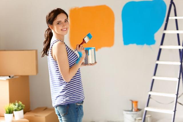 Peinture pour salon