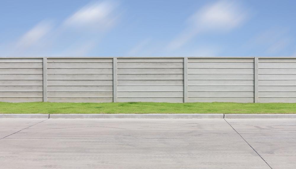 Prix d'une clôture en béton préfabriquée