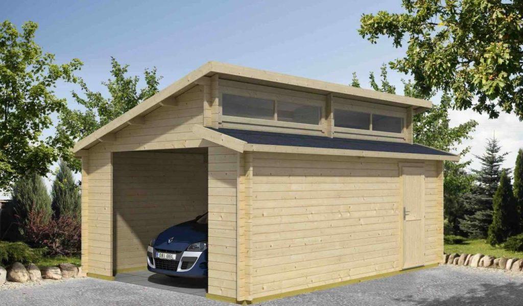 Prix d'un garage préfabriqué en bois