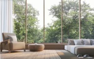 Prix de pose d'une baie vitrée bois