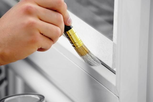 peinture pour fenêtre