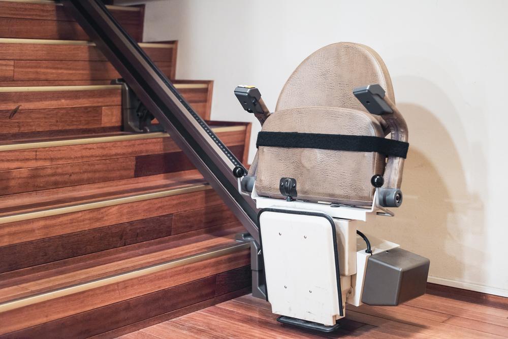 pose monte-escalier