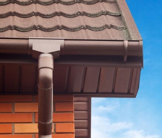 Débord de toit tôle - bac acier