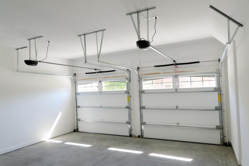Motorisation d'une porte de garage sectionnelle