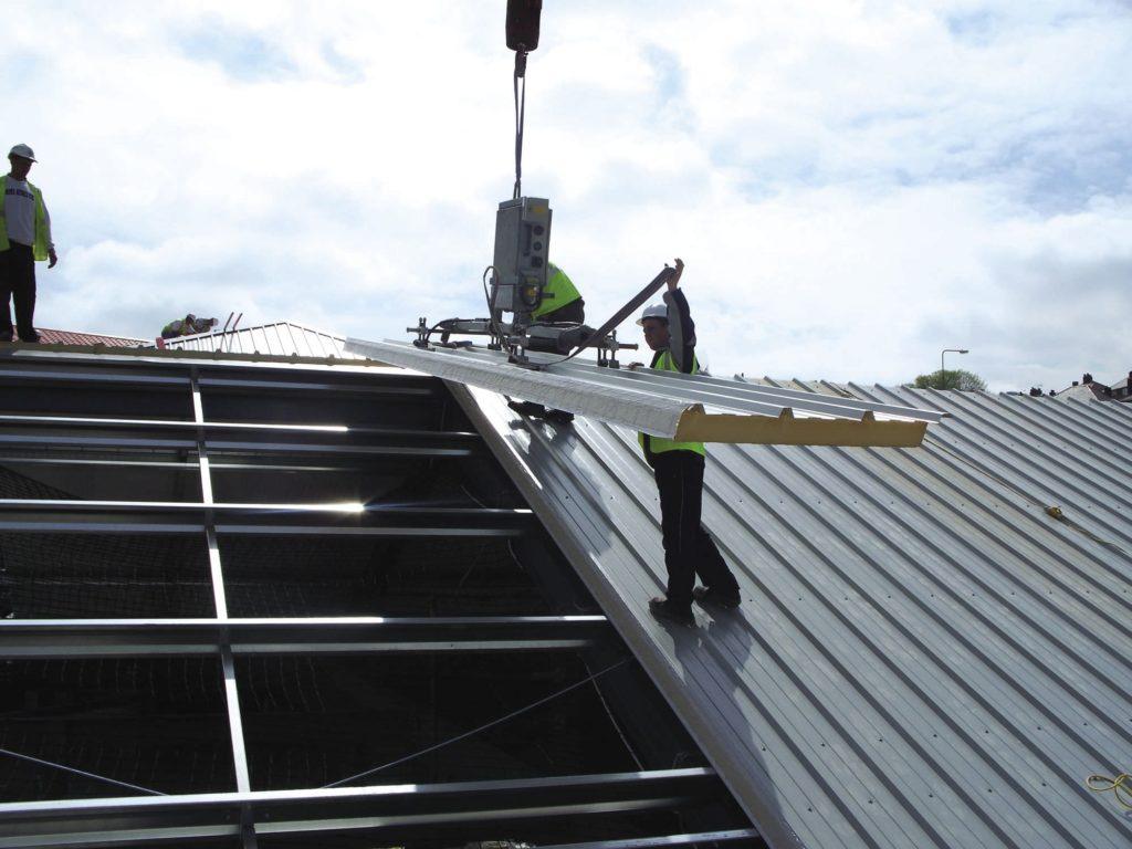 tole isole pour toiture elegant panneaux isolants m pour toiture bardage ou cloison promistyl. Black Bedroom Furniture Sets. Home Design Ideas