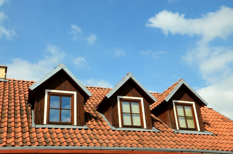 Triple lucarne de toit