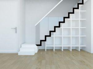 Escalier quart tournant design