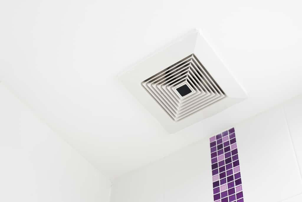 Extracteur d'air et aérateur salle de bain