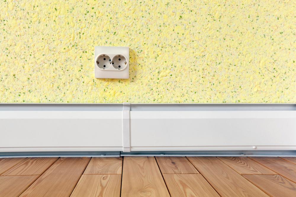 Plinthe chauffante électrique