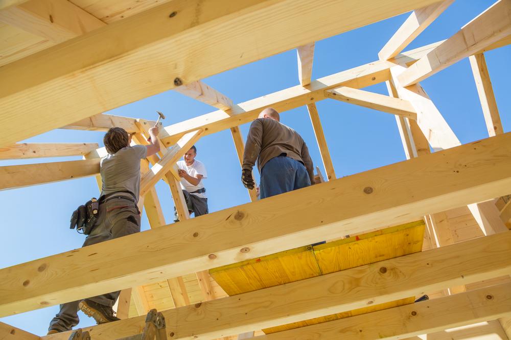 Travaux de construction maison - ossature bois