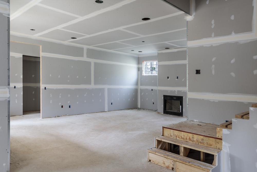 Cloisonnement et pose de placo-plâtre en rénovation intérieure